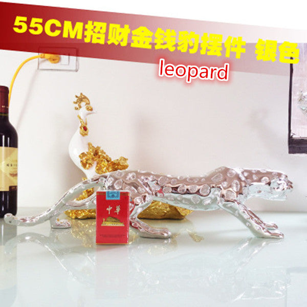 Resin Crafts Extra Large  Leopard