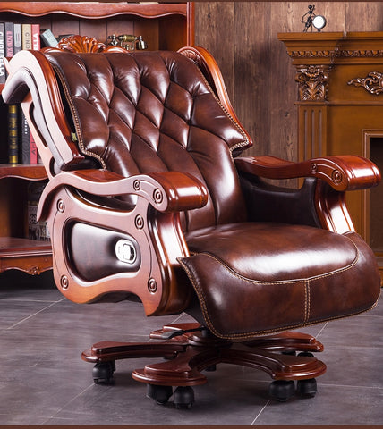 Chief executive chair. Office chair. Computer chair can be used to massage