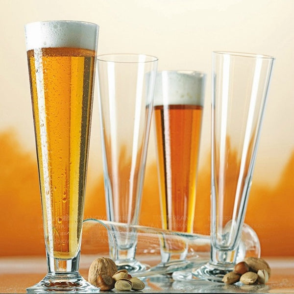 beer glass, thickened glass, logo printing is available for bars and restaurants