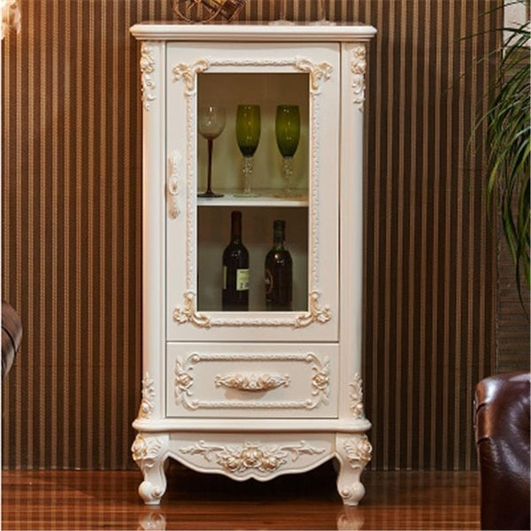 Carrito Tea Cabinet  European Vintage Kitchen  Buffet Cupboard