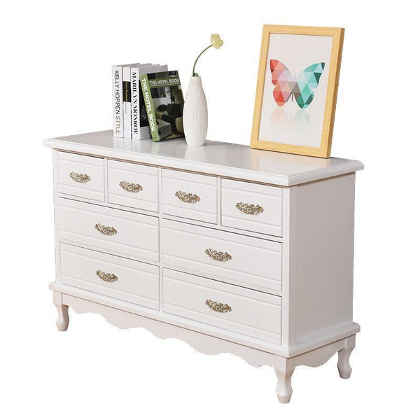 Living Room Furniture European Wood  Organizer  Chest Of Drawers