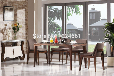 Dining Table Sets Wood Carvings Furniture Modern