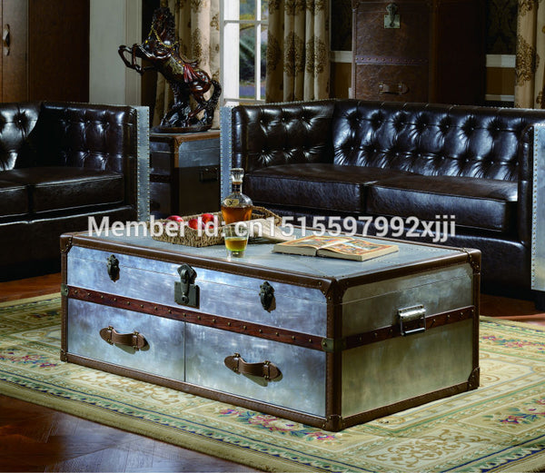 Table Led Bar  American Country Style Antique Furniture