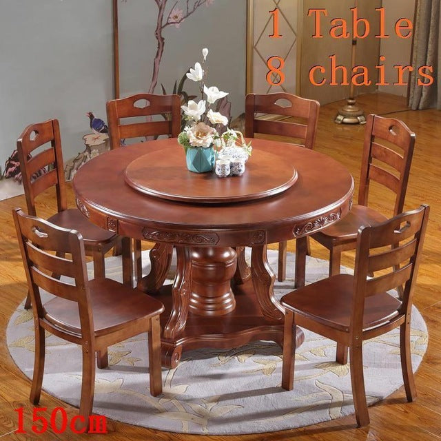 A Manger Moderne Pliante Dinning Set Round Dining Room Table