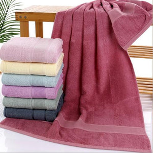 Anti-bacterial Bamboo Fiber Bath Towel Drap de bain 70*140cm Large Men Bathroom Towels Gift Towel free shipping