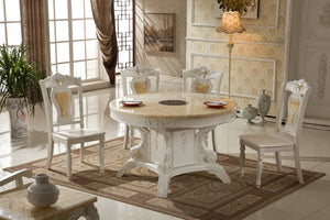 Iron Furniture Design Furniture  Antique Wooden French Style Dinning Table