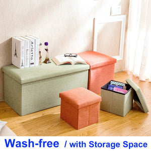 Wash-free Foldable Sofa with Storage Space