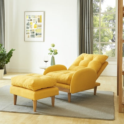 Louis Fashion Living Room Sofas Simple Lazy Chair Mini Tatami Balcony Modern