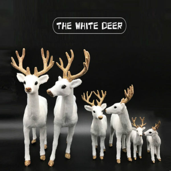 Deer Figure White-tailed Reindeer Home  Decoration