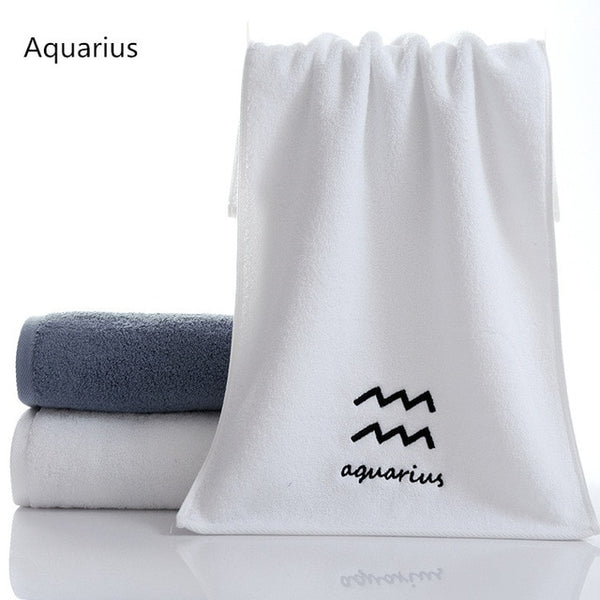 black white high-grade towel soft absorption thickening  100% cotton towels bathroom