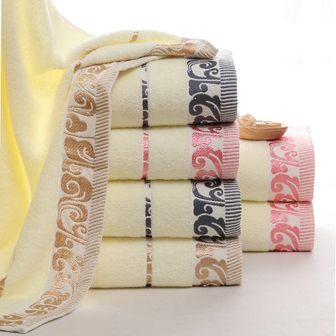 Home Textile Cotton Soft Face Towel High quality Bathroom Bath Towel Sports Solid Face Hand Towels