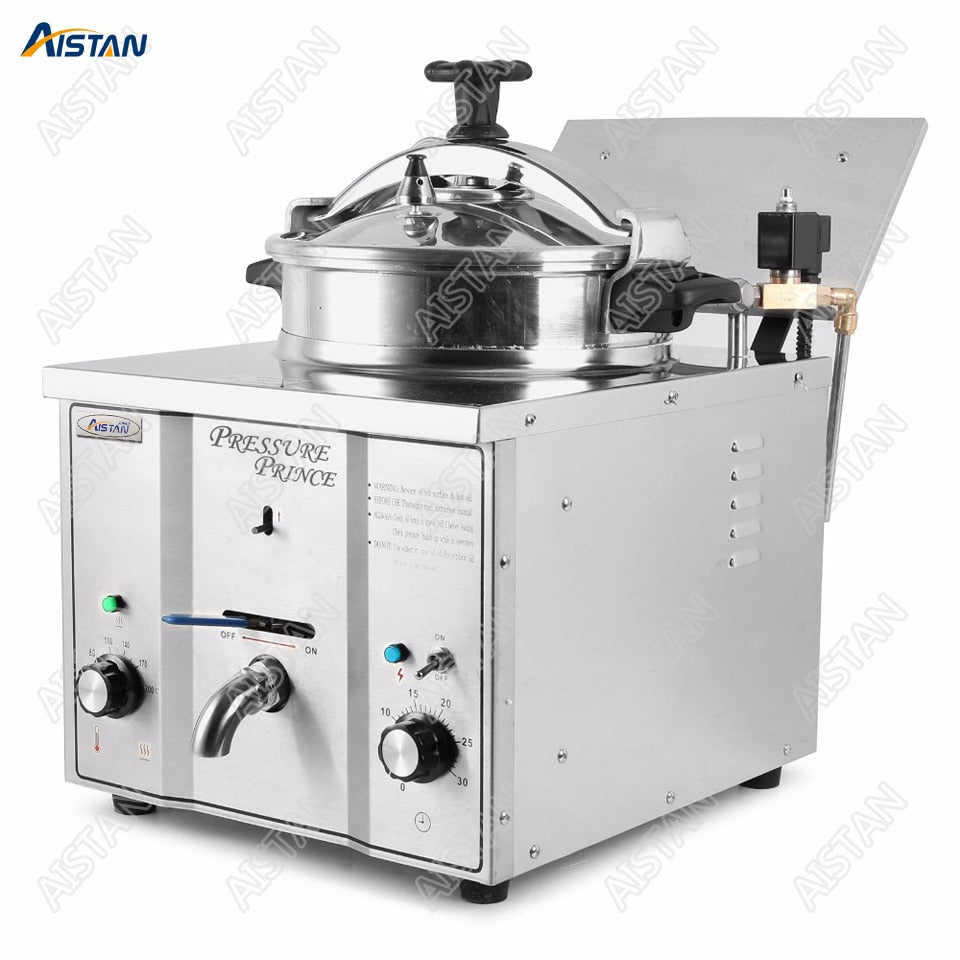 counter table top pressure fryer electric commercial use stainless