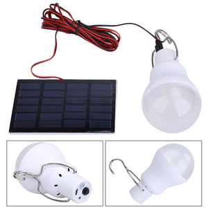 Solar Power LED Bulb Lamp Outdoor Portable - Jumpinhike