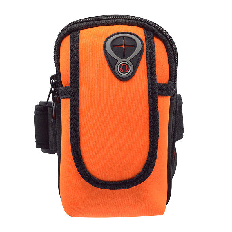 Sport Running Pouch 5.5 inch Running Wrist Phone Bag Arm Bag Outdoor Waterproof  Hand Bag for Camping Hiking - Jumpinhike