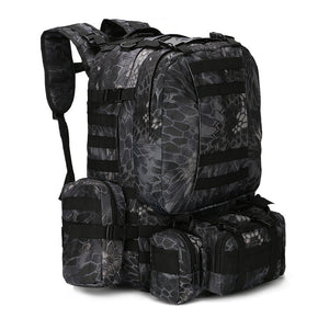 Outdoor 50L Military Rucksacks Tactical Backpack - Jumpinhike