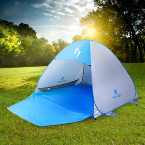 Automatic Pop Up Beach Tent - Jumpinhike