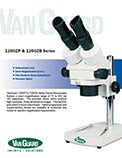 1200ZB and 1200ZP Stereozoom Microscopes