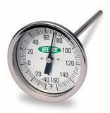 "Dial Thermometers - 3"" diameter"