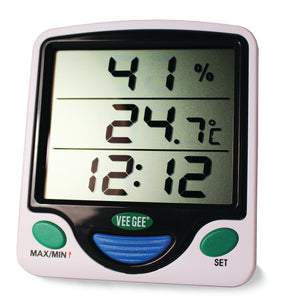 Min/Max Digital Thermometer / Hygrometer / Clock
