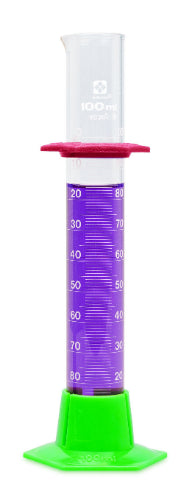 SIBATA Glass Graduated Cylinders, Student Grade