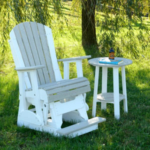 2′ Adirondack Balcony Glider Chair