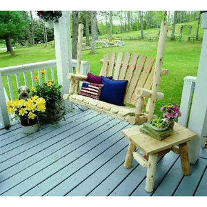 Lakeland Mills Porch Swing - 4 Foot - Swing Chairs Direct