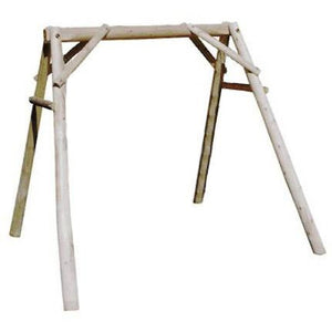 Lakeland Mills Cedar A-Frame Swing Mount - 5 Foot - Swing Chairs Direct