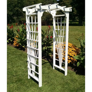 3 Foot Wide Cranbrook Cedar Arbor by A&L Furniture