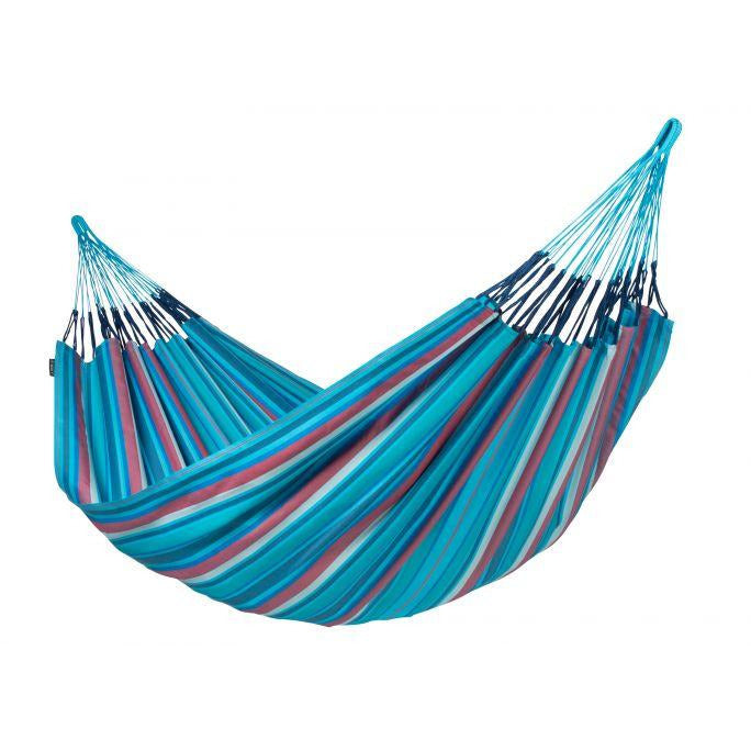 Brisa Weather-Resistant Classic Hammock - Blue Wave - by La Siesta