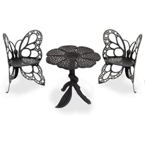 FlowerHouse Butterfly Bistro Chair Set - Swing Chairs Direct