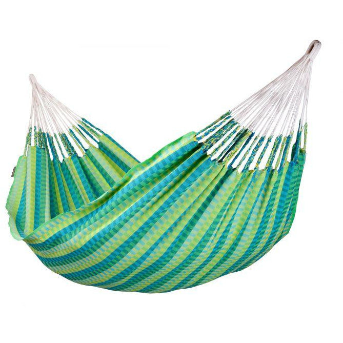 Carolina Cotton Double Classic Hammock - Spring Pattern - by La Siesta