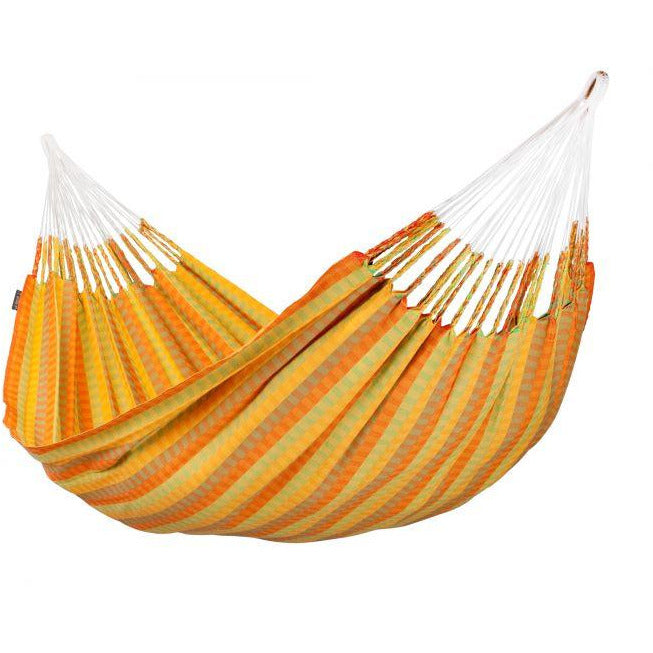 Carolina Cotton Double Classic Hammock - Citrus Pattern - by La Siesta