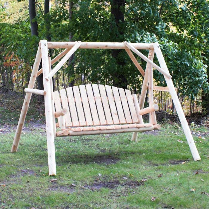 Lakeland Mills County Garden Yard Swing - 5 Foot - Swing Chairs Direct