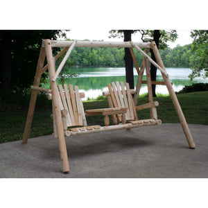 Lakeland Mills Teta-A-Tete Yard Swing - Swing Chairs Direct