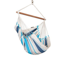 Caribena Cotton Basic Hammock Chair by La Siesta - Swing Chairs Direct