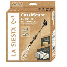 CasaMount Multipurpose Suspension for Hammocks, Black, by La Siesta