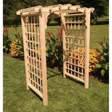 5 Foot Cambridge Pine Arbor by A&L Furniture