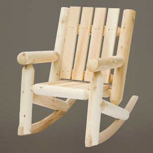 Cedar Looks Junior Log Rocking Chair