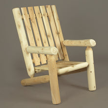 Cedar Looks Log High Back Arm Chair
