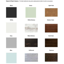 The Historic Hilton Head Hanging Bed Color Options