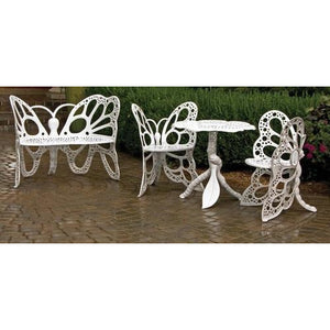 FlowerHouse Butterfly Deluxe Garden Set, Two Chairs and a Bench - Swing Chairs Direct