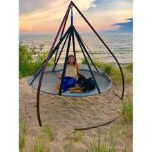FlowerHouse Flying Saucer Hanging Lounge Hammock Chair - Swing Chairs Direct