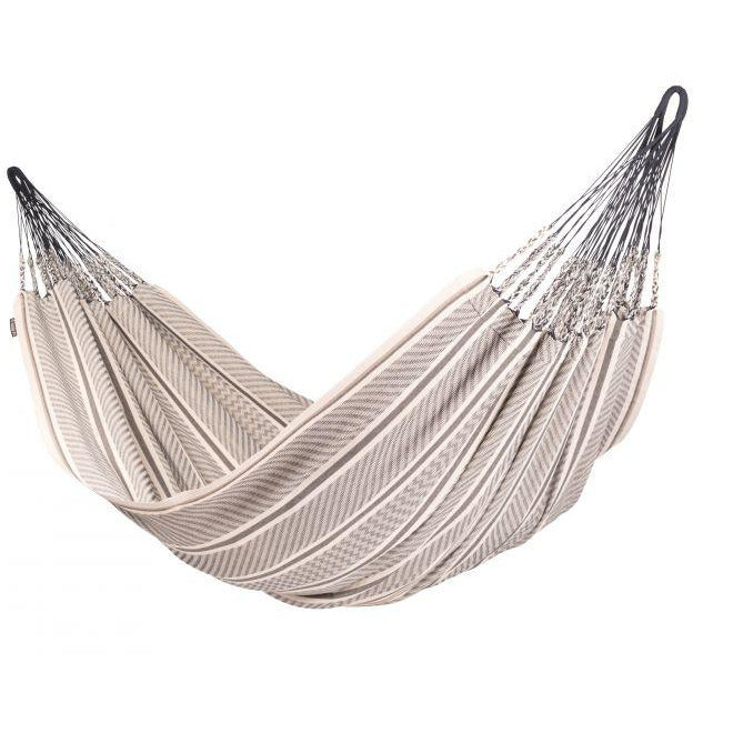 Flora Organic Cotton Kingsize Classic Hammock by La Siesta - Zebra - Swing Chairs Direct