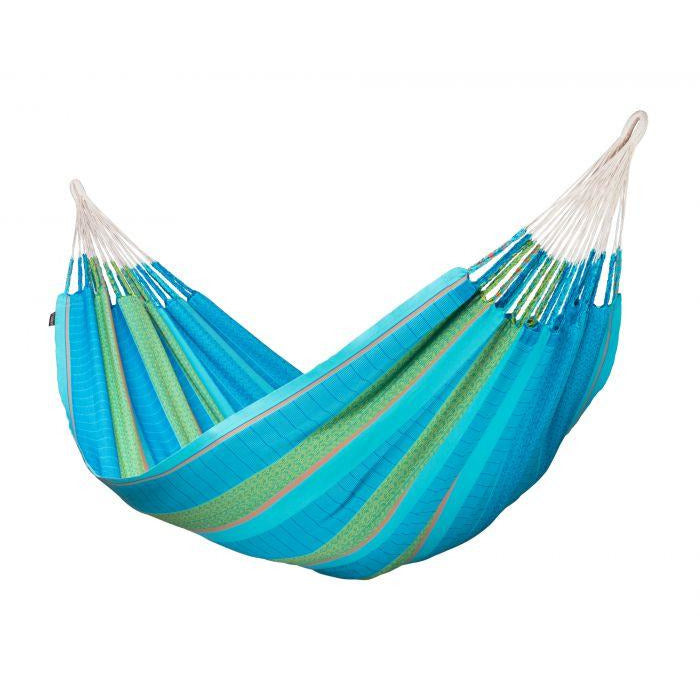 Flora Organic Cotton Kingsize Classic Hammock by La Siesta - Curacao - Swing Chairs Direct