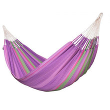 Flora Organic Cotton Kingsize Classic Hammock by La Siesta - Blossom - Swing Chairs Direct