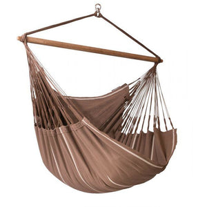 Habana Organic Cotton Lounger Hammock Chair by La Siesta - Swing Chairs Direct