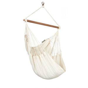 Modesta Organic Cotton Basic Hammock Chair by La Siesta - Swing Chairs Direct