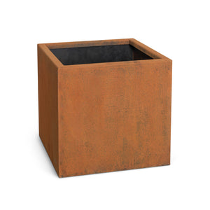 Moderna Square Corten Steel Planter