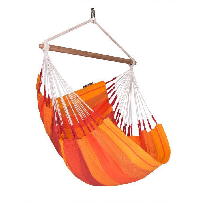 Orquidea Cotton Basic Hammock Chair by La Siesta - Volcano