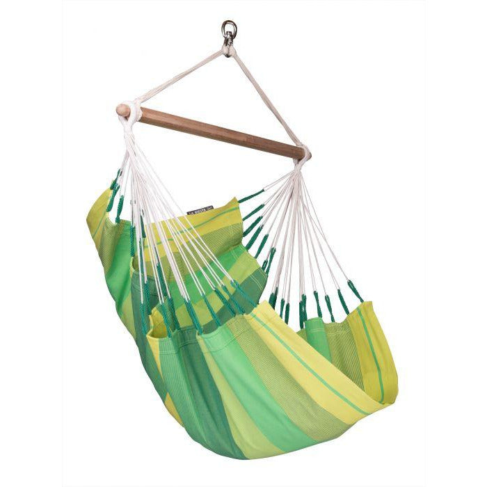 Orquidea Cotton Basic Hammock Chair by La Siesta - Jungle